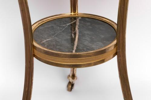 Gilded bronze guéridon Louis XVI period -