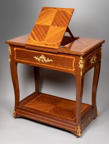 Furniture  - Amaranth riding table mid 18th century