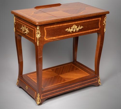 Amaranth riding table mid 18th century - Louis XV