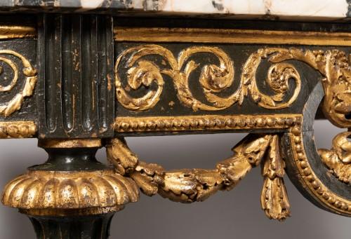 Consoles pair late 18th century - Louis XVI