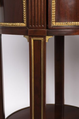 Antiquités - Mahogany bedside tables pair 19th century