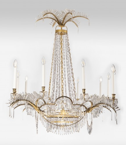 12 lights chandelier Neoclassical period