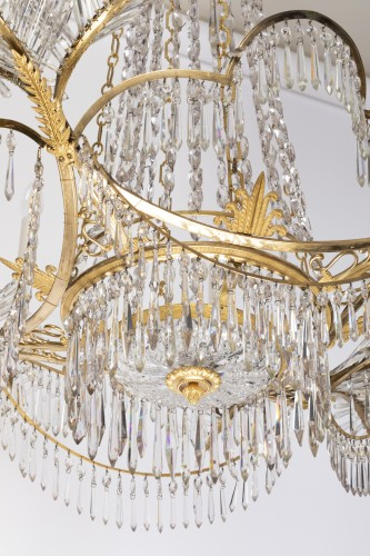 18th century - 12 lights chandelier Neoclassical period