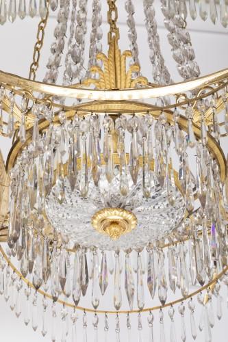 Directoire - 12 lights chandelier Neoclassical period