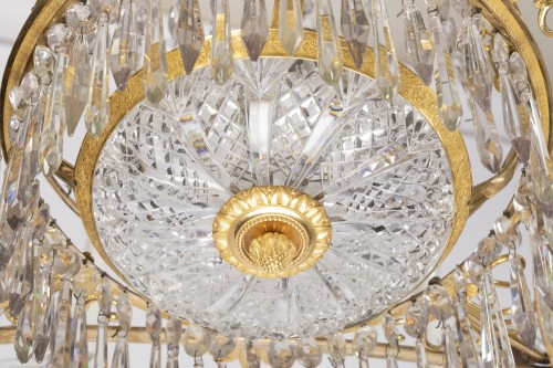 Antiquités - 12 lights chandelier Neoclassical period