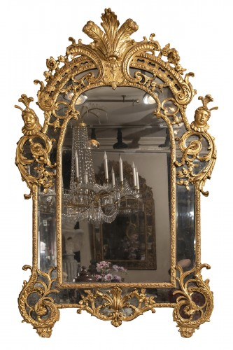 French Régence mirror 18th century