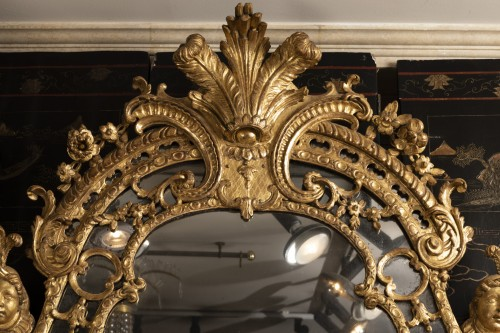 French Regence - French Régence mirror 18th century