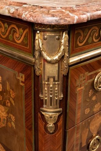 Antiquités - Transition chest stamped VIE