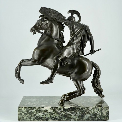 Sculpture  - Equestrian bronze early 19th century