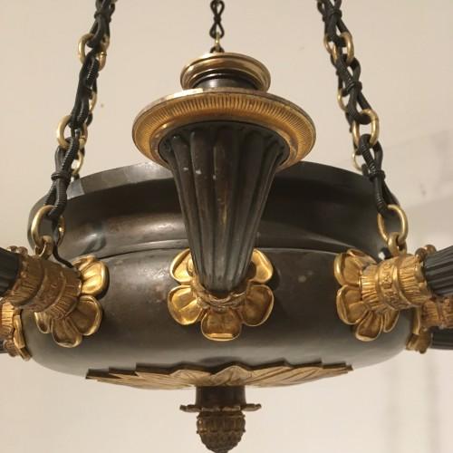 19th century - Ten lights chandelier Restauration period circa 1820