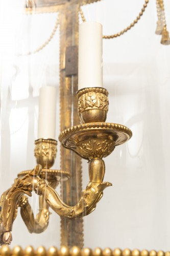 Big lantern Louis XVI period late 18th century -