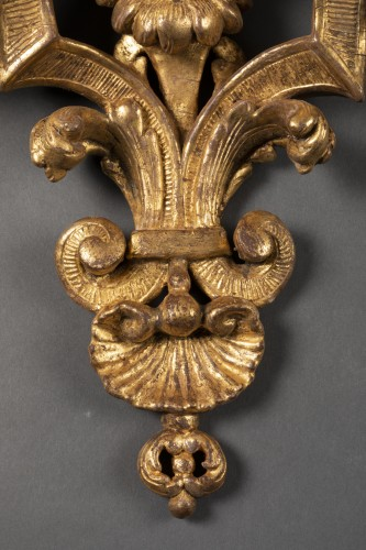 Large pair of  Louis XIV wall brackets -