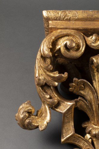 18th century - Large pair of  Louis XIV wall brackets