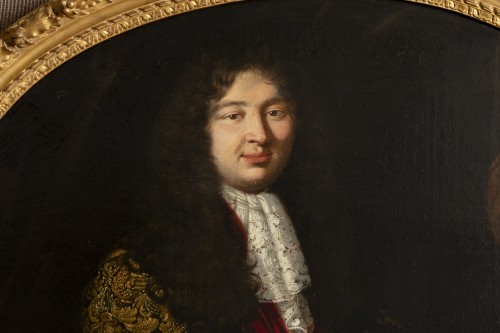 Louis XIV - Portraits - French School early 18th