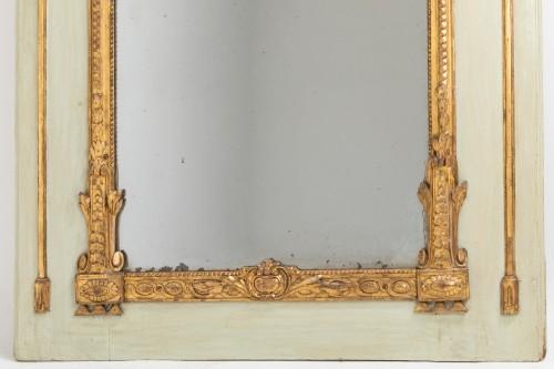 Mirrors, Trumeau  - Trumeau mirror Louis XVI period late 18th