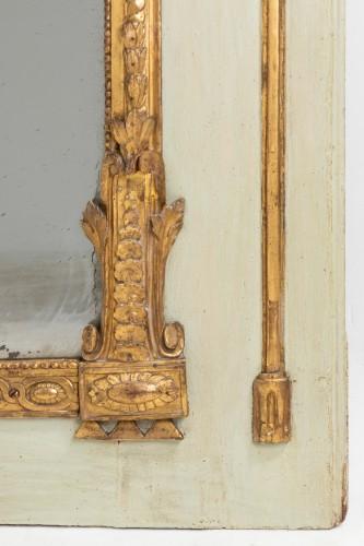 Trumeau mirror Louis XVI period late 18th -