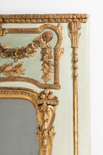 Trumeau mirror Louis XVI period late 18th - Louis XVI