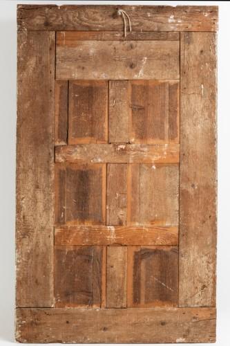 Antiquités - Trumeau mirror Louis XVI period late 18th
