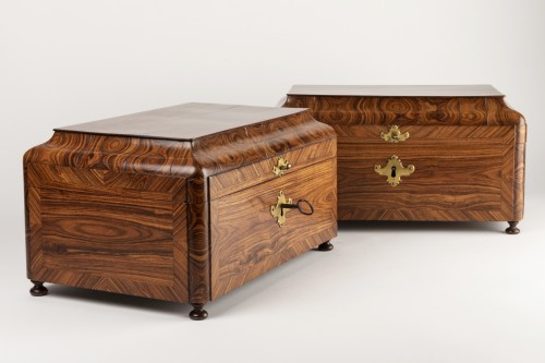 Boxes pair Régence period 18th century - French Regence