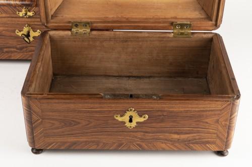 Antiquités - Boxes pair Régence period 18th century