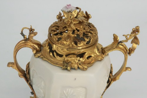 "18th century - ""Pot pourri"" vase China porcelain 18th century"