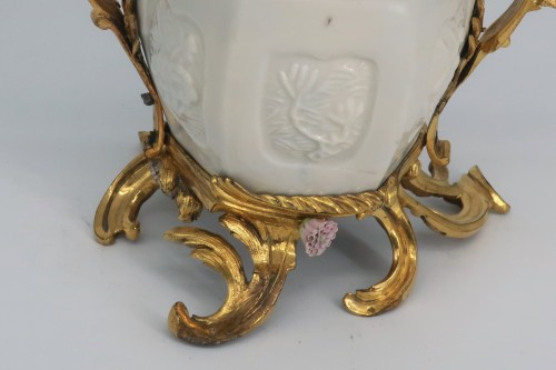"""""""Pot pourri"""" vase China porcelain 18th century - Louis XV"""
