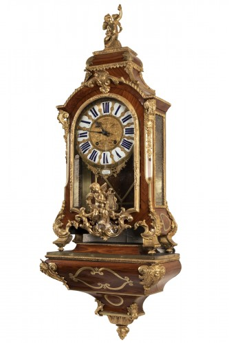 Bracket clock Régence period 18th century