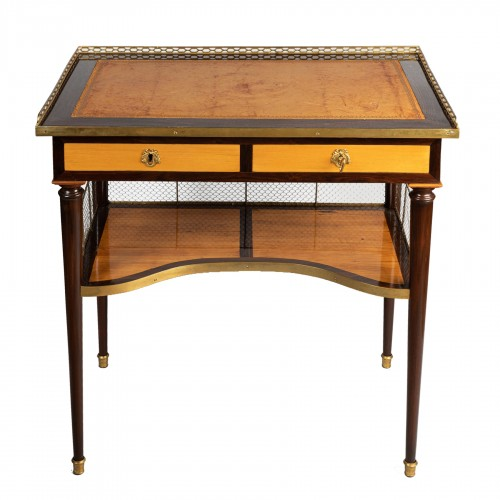 Louis XVI table stamped JF LELEU
