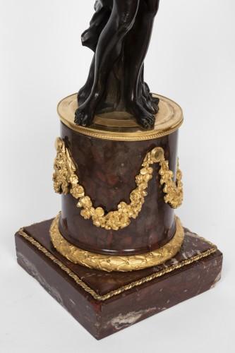 18th century - Big candelabras pair Louis XVI period late 18th century