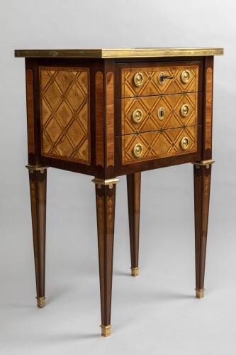 """Antiquités - """"Table de salon"""" Louis XVI period late 18th century"""