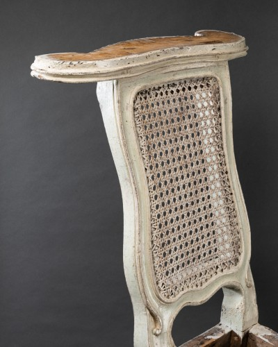 """voyeuses"" chairs pair Louis XV period stamped AVISSE - Seating Style Louis XV"
