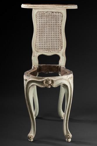"""voyeuses"" chairs pair Louis XV period stamped AVISSE - Louis XV"