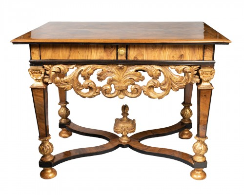 Middle table Louis XIV period late 17th century
