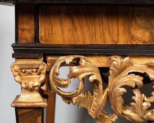 Middle table Louis XIV period late 17th century - Furniture Style Louis XIV