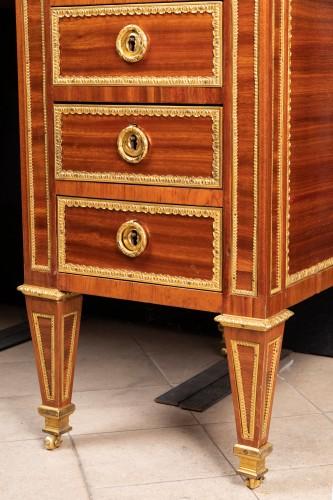 Louis XVI period desk stamped BERNARD -