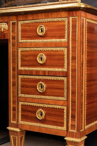 18th century - Louis XVI period desk stamped BERNARD