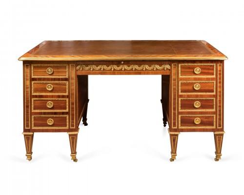 Louis XVI - Louis XVI period desk stamped BERNARD