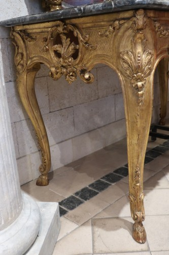 French Regence - Wide Régence console 18th century