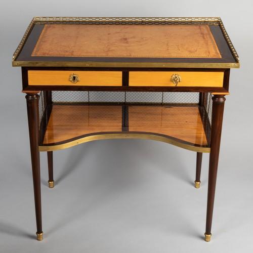 Louis XVI table stamped JF LELEU - Furniture Style Louis XVI
