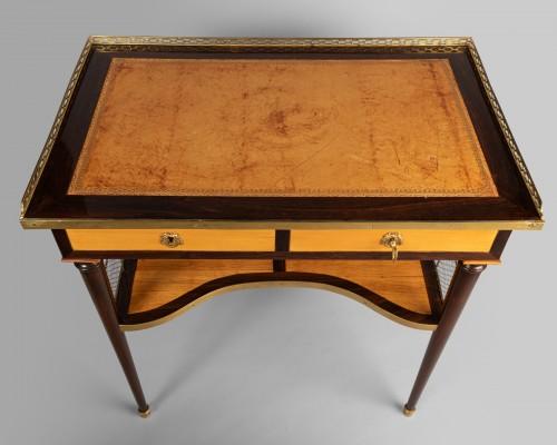 Furniture  - Louis XVI table stamped JF LELEU