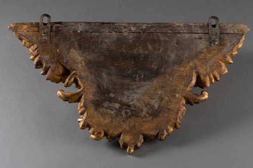 Antiquités - Two wall brackets forming pair early 18th