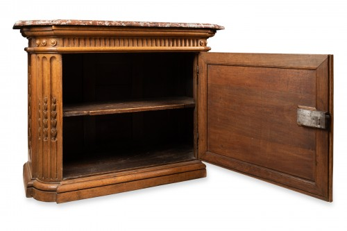 "17th century - Carved oak ""buffet"" Louis XIV period"