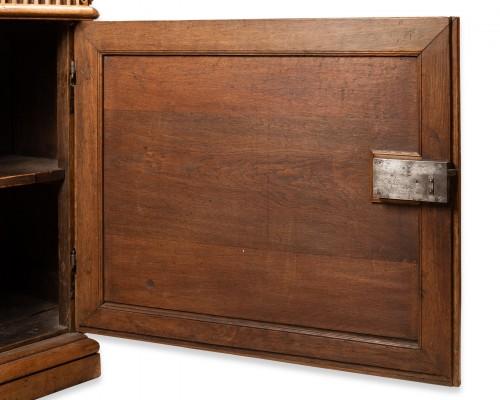 """Carved oak """"buffet"""" Louis XIV period - Louis XIV"""