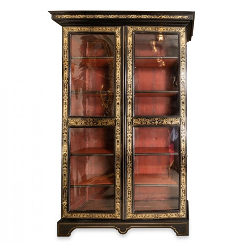 Louis XIV period bibliothèque early 18th century
