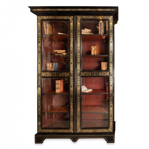 Louis XIV period bibliothèque early 18th century - Furniture Style Louis XIV