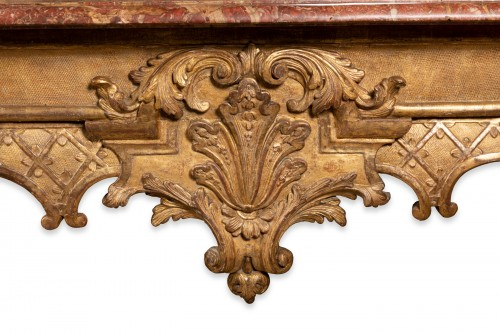 18th century - Table console Régence period 18th century