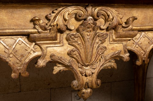 Table console Régence period 18th century - French Regence