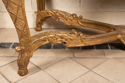 French Regence - Table console Régence period 18th century