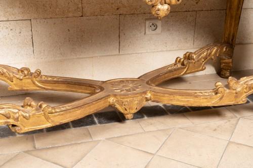 Antiquités - Table console Régence period 18th century