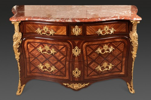 Antiquités - French Régence commode, 18th century